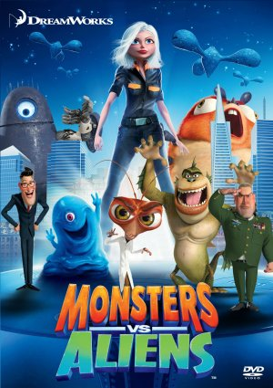 Monsters aliens movie japan poster chirashi cheap lightning